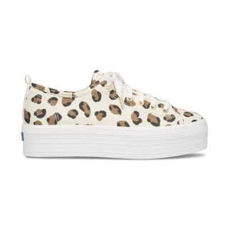 Zapatilla Triple Up Leopard Lona - Keds