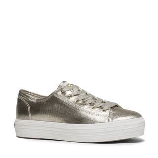 Zapatilla Triple Kick Metallic - Keds