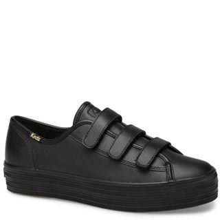 Zapatilla Triple Kick Velcro Leather - Keds