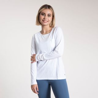 Polera Manga Larga Mujer First Layer W/Pocket