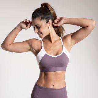 Peto Mujer Logo Sport Bra