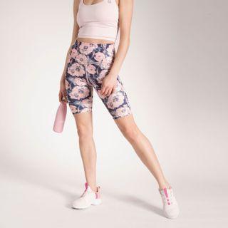Calza Mujer Printed Biker Leg Hr